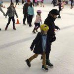 スケートにチャレンジ
